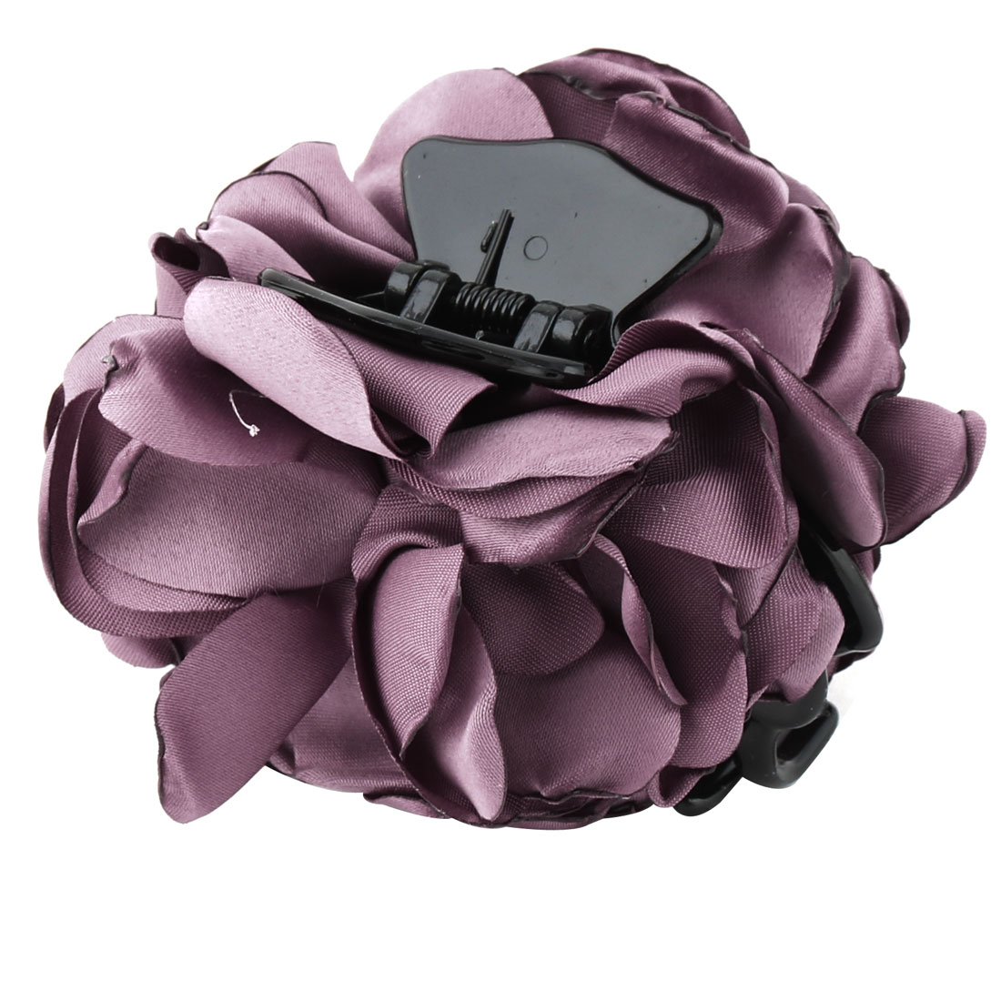 Household Women Hairstyle Flower Decor Camellia Hairdressing Hair Claw Purple