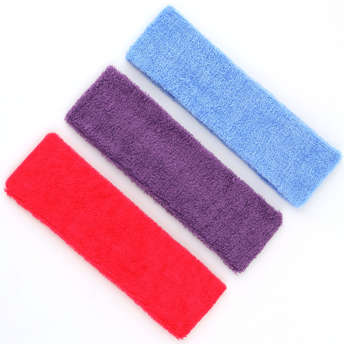 Physical Yoga Volleyball Elastic Hairdressing Hair Band Sweatband Headband 3 PCS