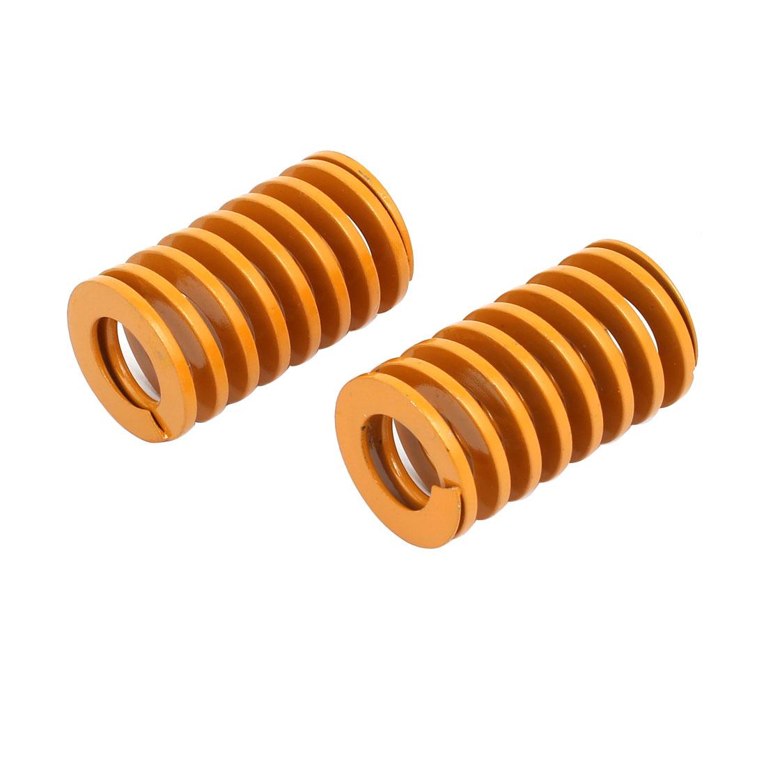 30mm x 50mm Mechanical Metal Spiral Compression Coil Die Spring Mould 2pcs