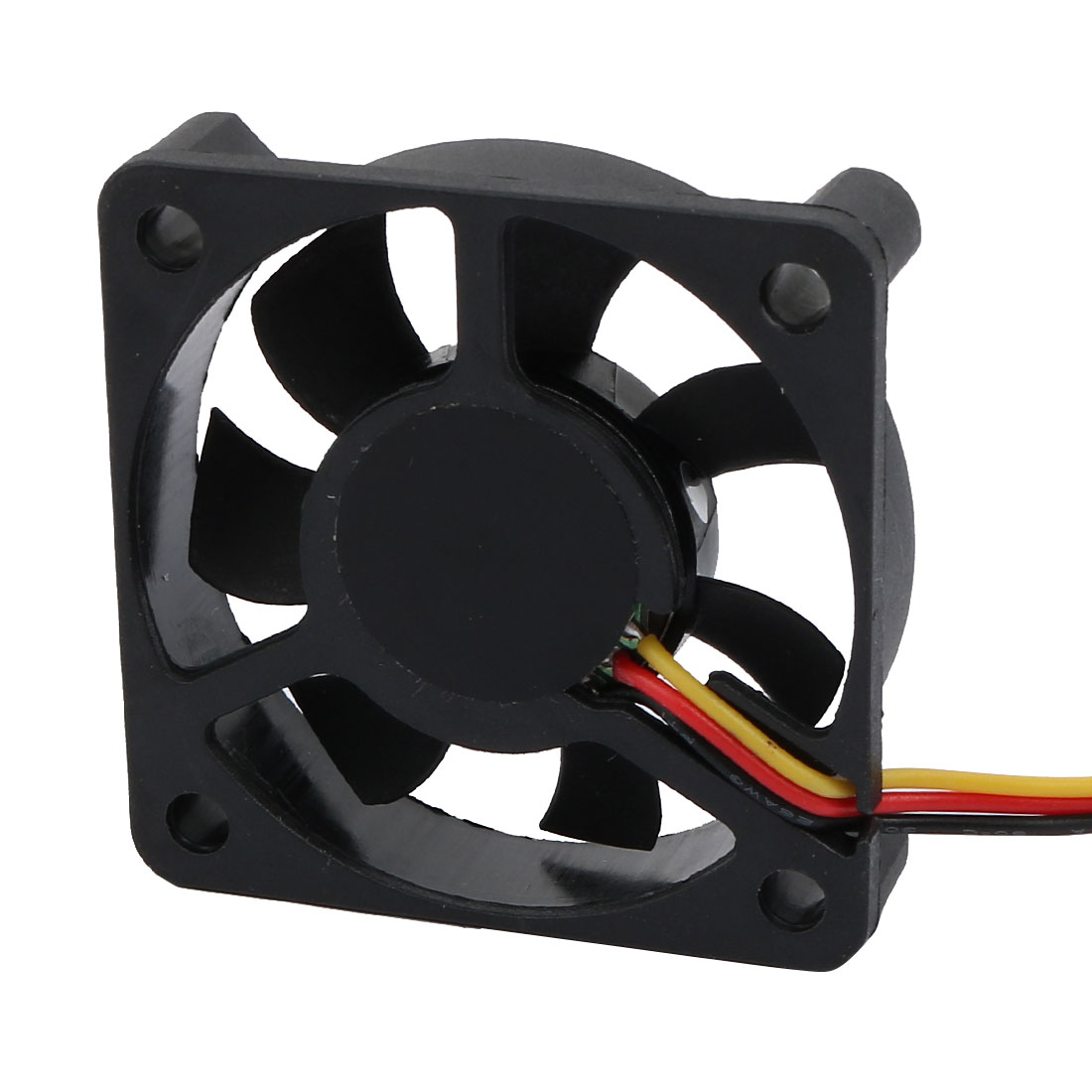 7-vanes Heatsinks Cooling Fan for PC Computer CPU Cooler with Cable Black