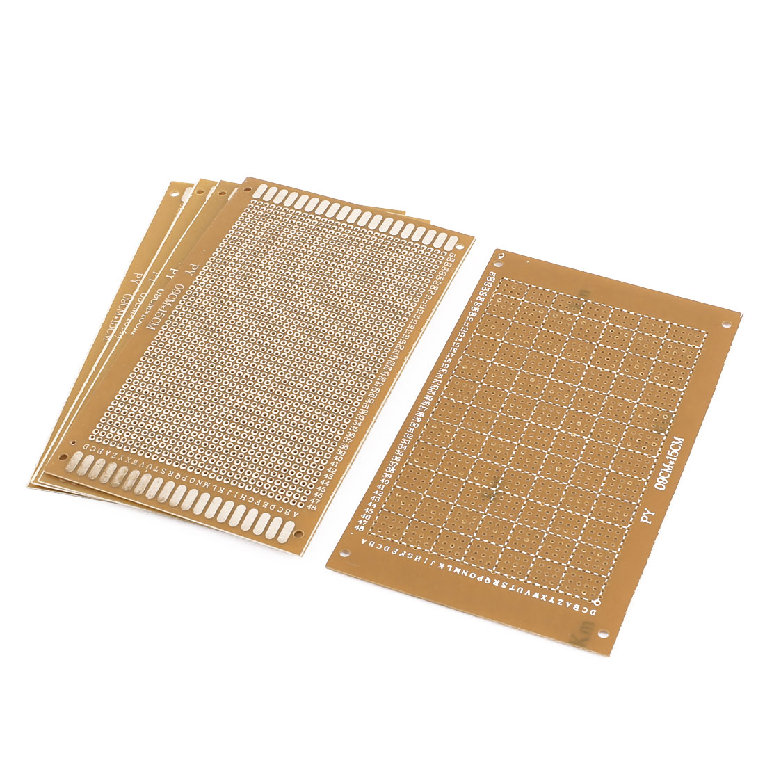 5 Pcs Single Sided Prototype Solderable Paper Universal PCB Board 9x15cm