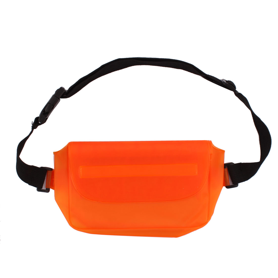 PVC Water Resistant Waist Pack Bag Pocket Cellphone Container Orange