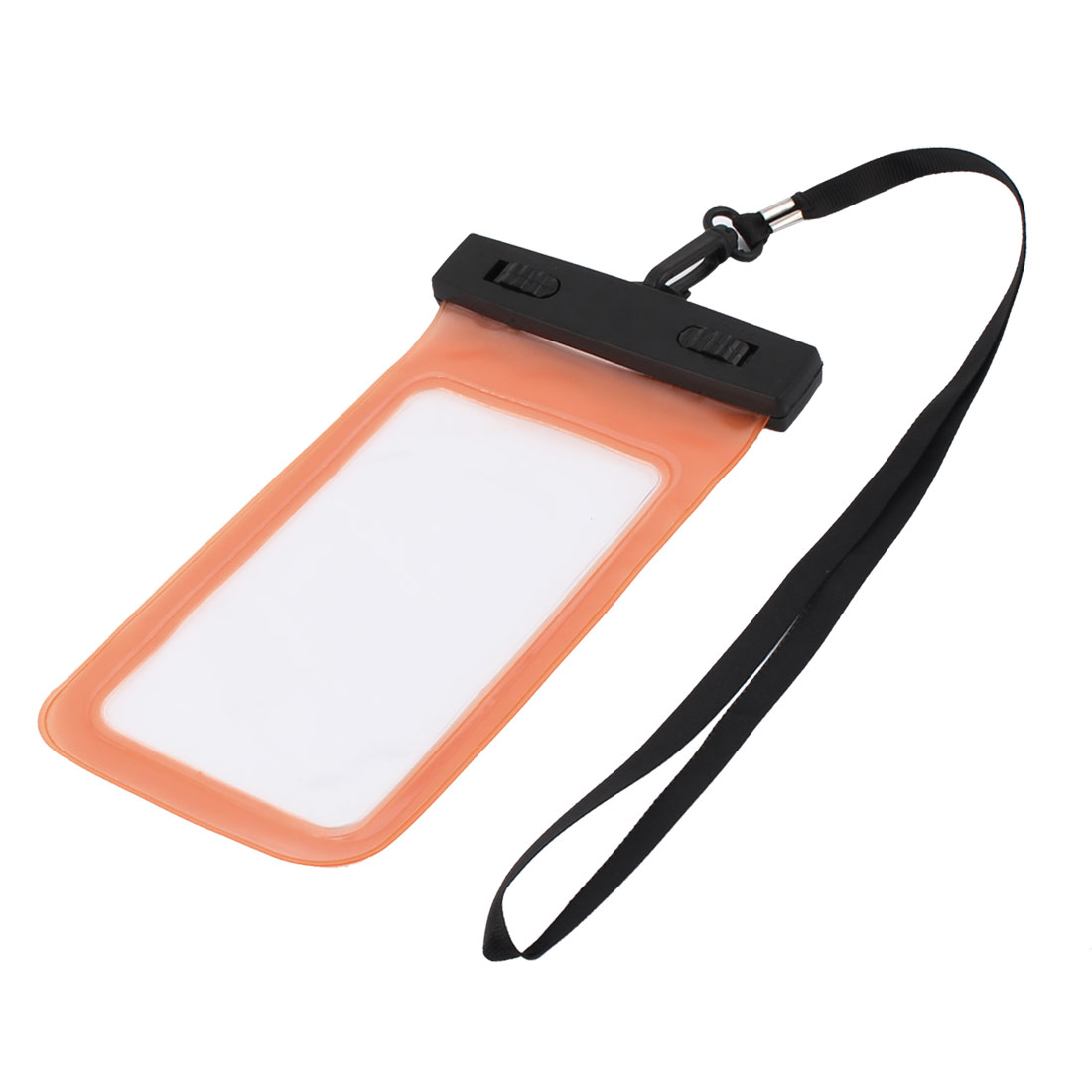 Underwater Cell Phone Water Resistance Case Bag Pouch Protective Holder Orange