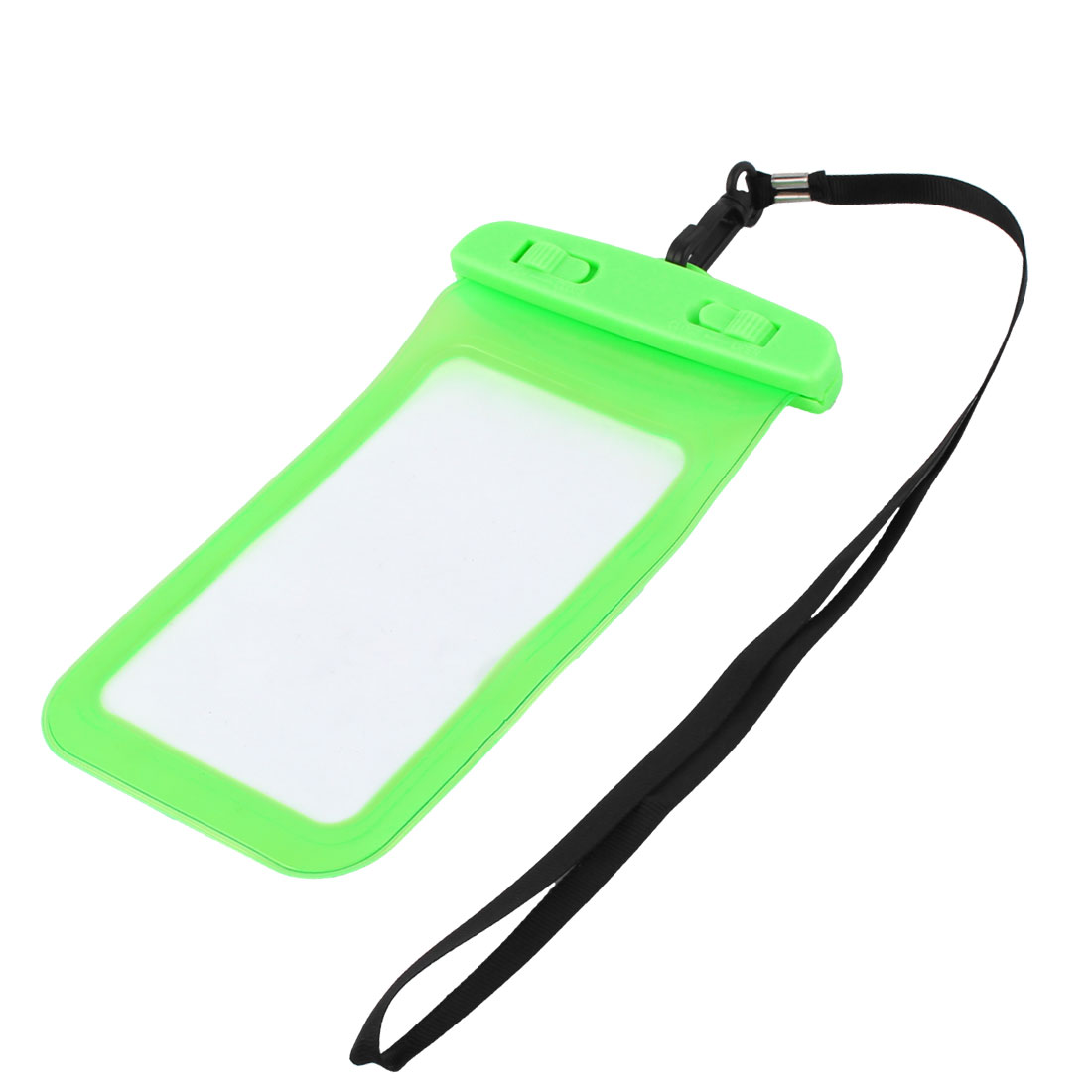 Underwater Cell Phone Water Resistant Case Bag Pouch Holder Container Green