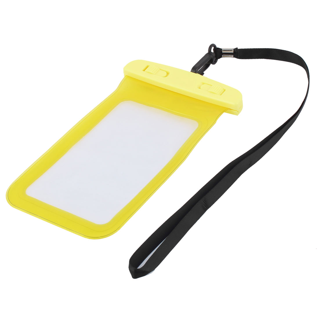 Underwater Cell Phone Water Resistant Case Bag Pouch Holder Container Yellow