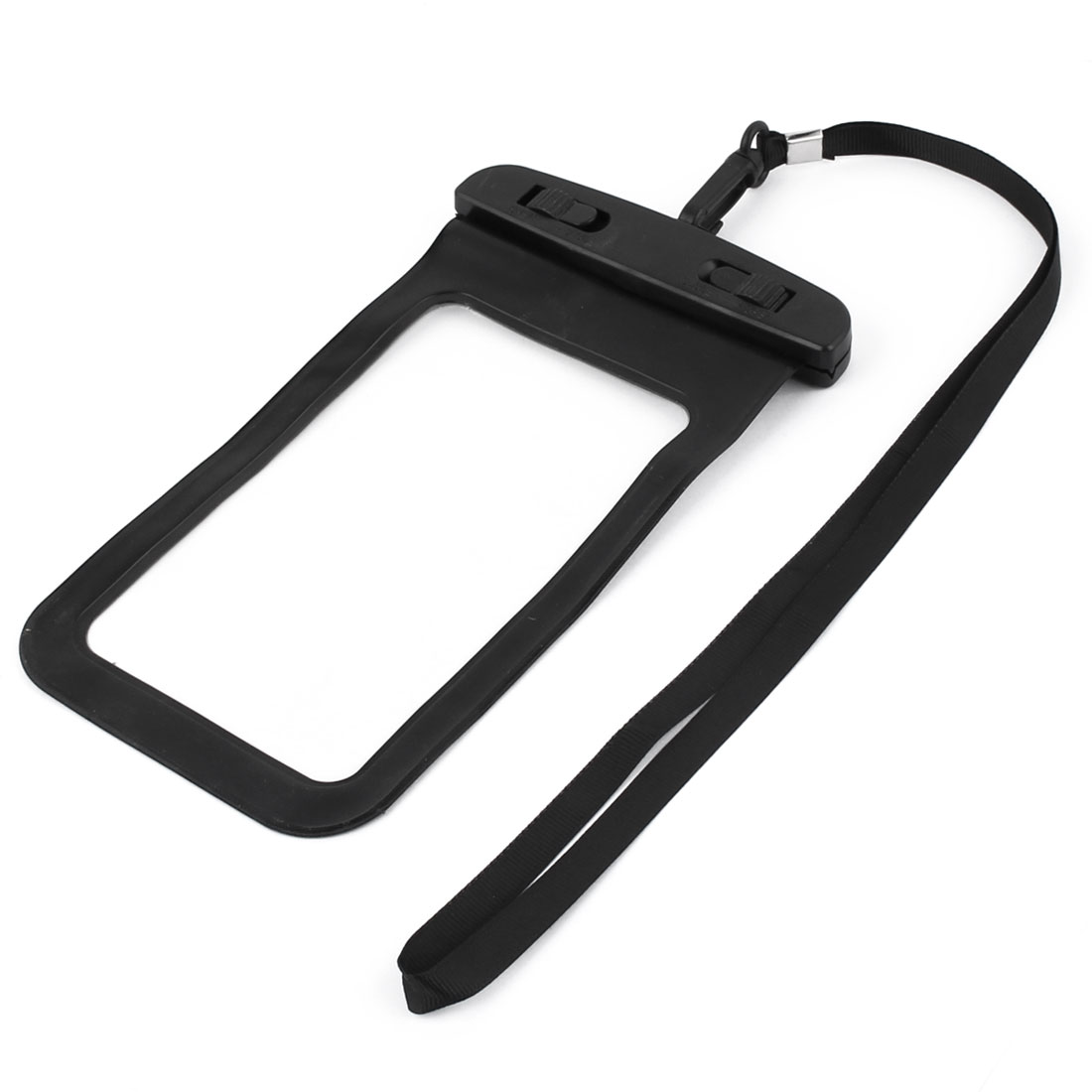 Underwater Cell Phone Water Resistant Case Bag Pouch Holder Container Black