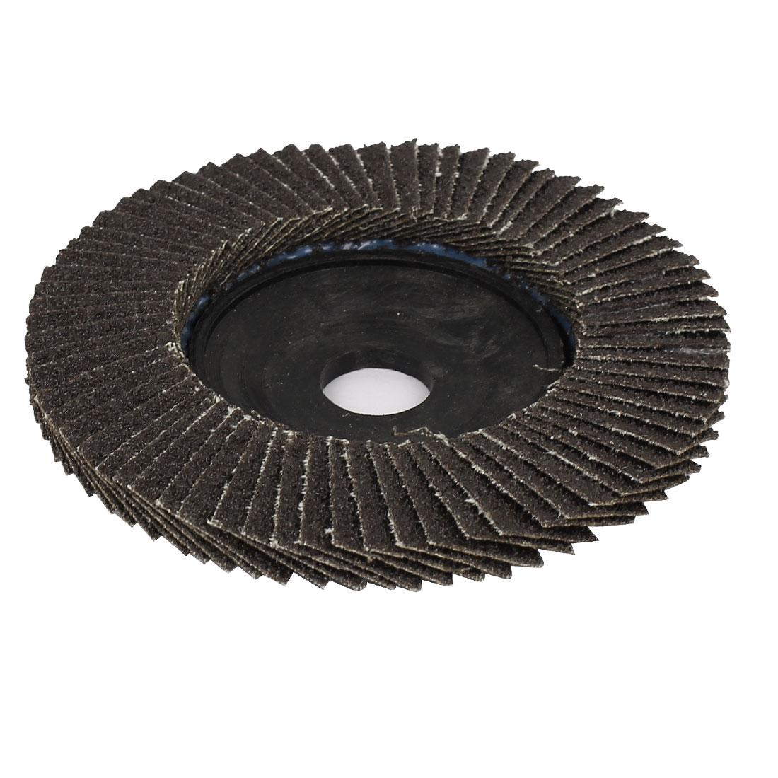 100mm x 16mm Flap Sanding Disc Polishing Grinding Wheel 60 Grit