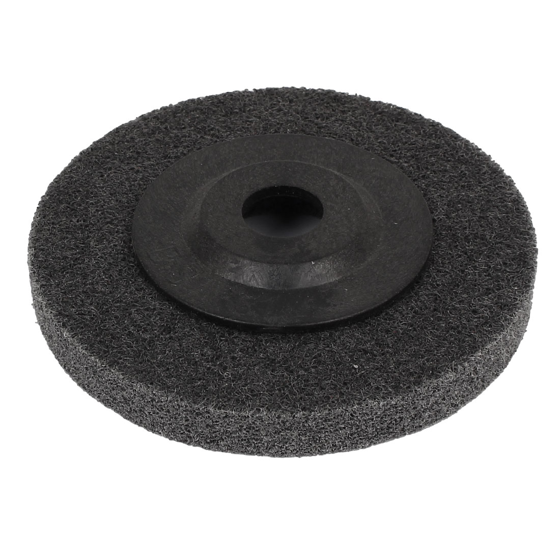 "4"" Outer Dia Plastic Lid Nylon Polishing Grinding Wheel"