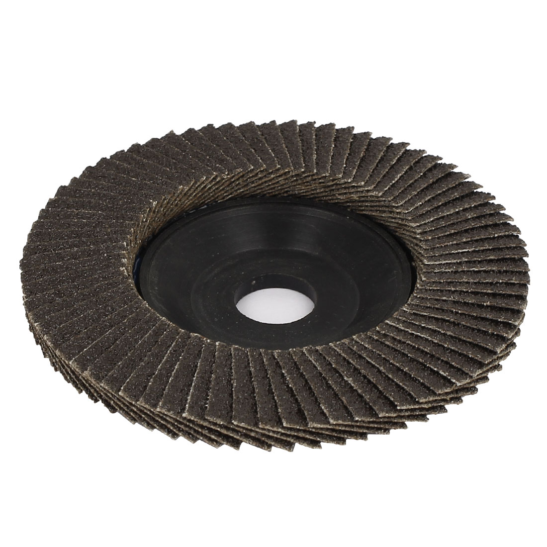 10cm Outside Dia Flap Sanding Disc Grinding Wheels 80 Grit