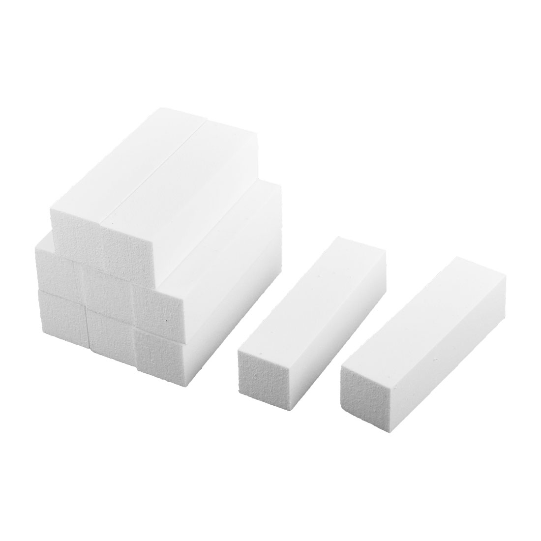 10PCS 4 Way Nail Art Care Shiner Polish Buffer Buffing Sanding Block Files Grit Tool