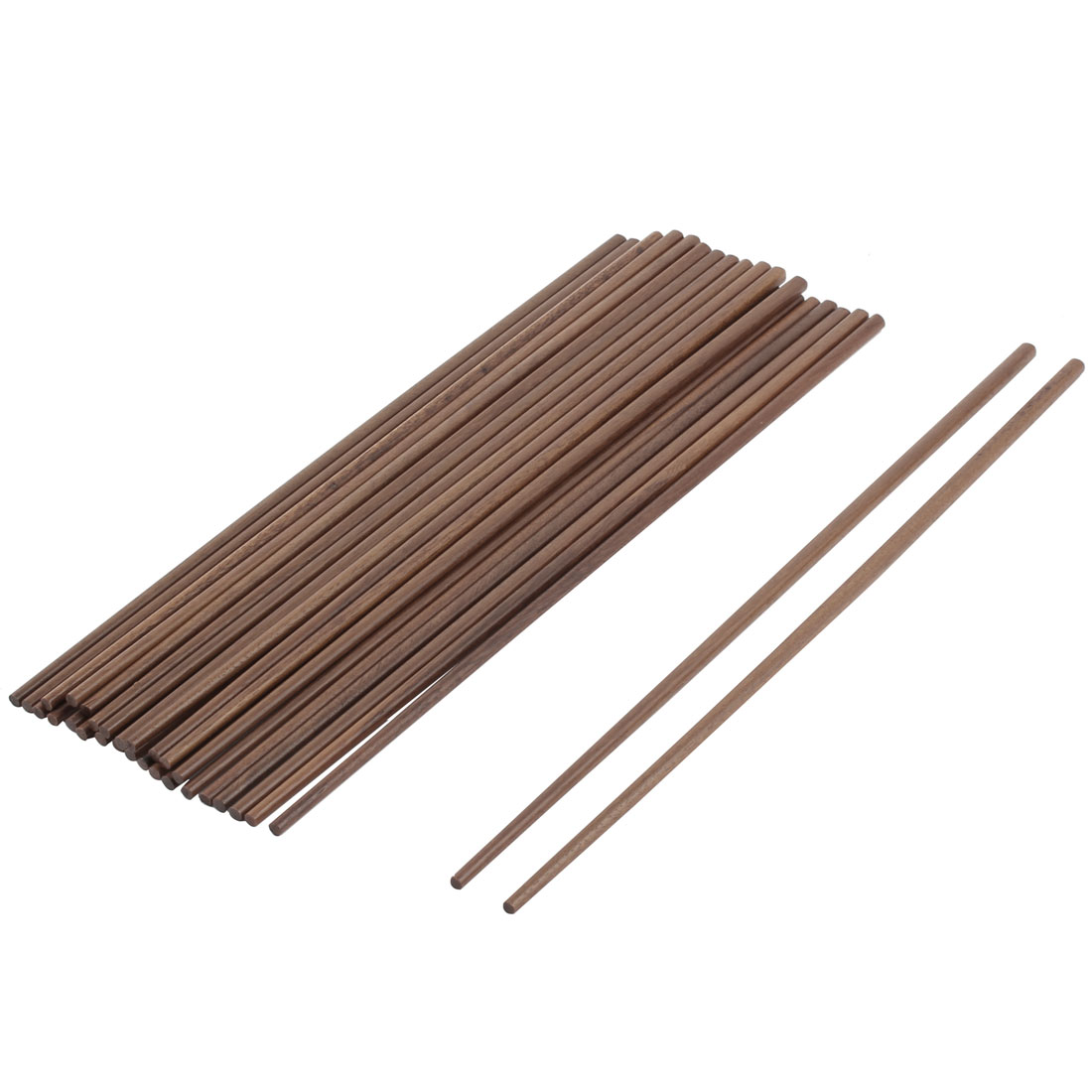 Wooden Kitchen Restaurant Deep Fried Hot Pot Chinese Chopsticks 42cm 15 Pairs