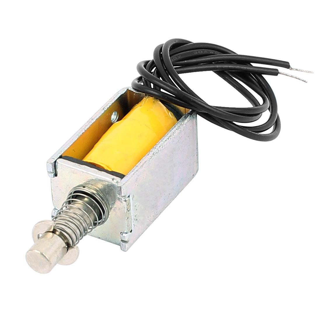 HTO-0420L12V06 DC 12V 2A Pull Type Open Frame Actuator Electric Solenoid Electromagnet
