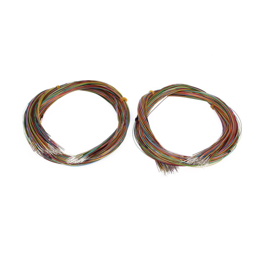 High Temperature Resistant Wrapping Wire 655mm x 0.4mm Multicolor 400 Pcs