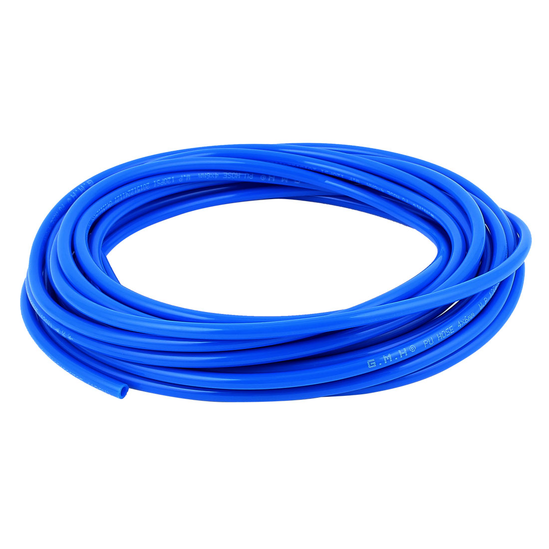 6mm x 4mm Fleaxible PU Tube Pneumatic Hose Blue 8.5M Length