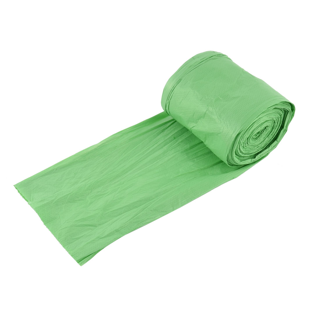 Home Office Kitchen Polyethylene Waste Rubbish Garbage Holder Bag Roll Green 50 x 60cm