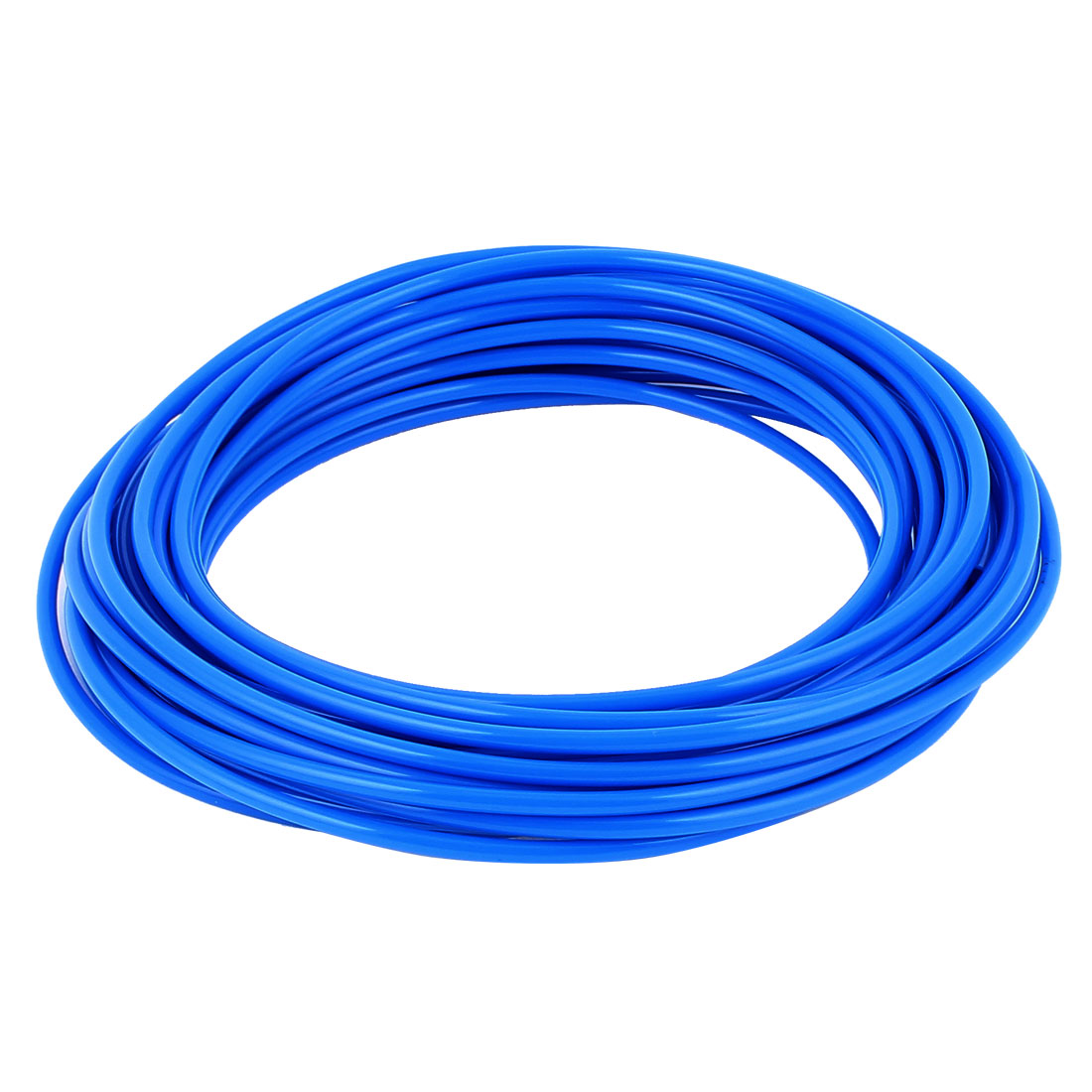 4mm x 2.5mm Fleaxible PU Tube Pneumatic Hose Blue 12M Length