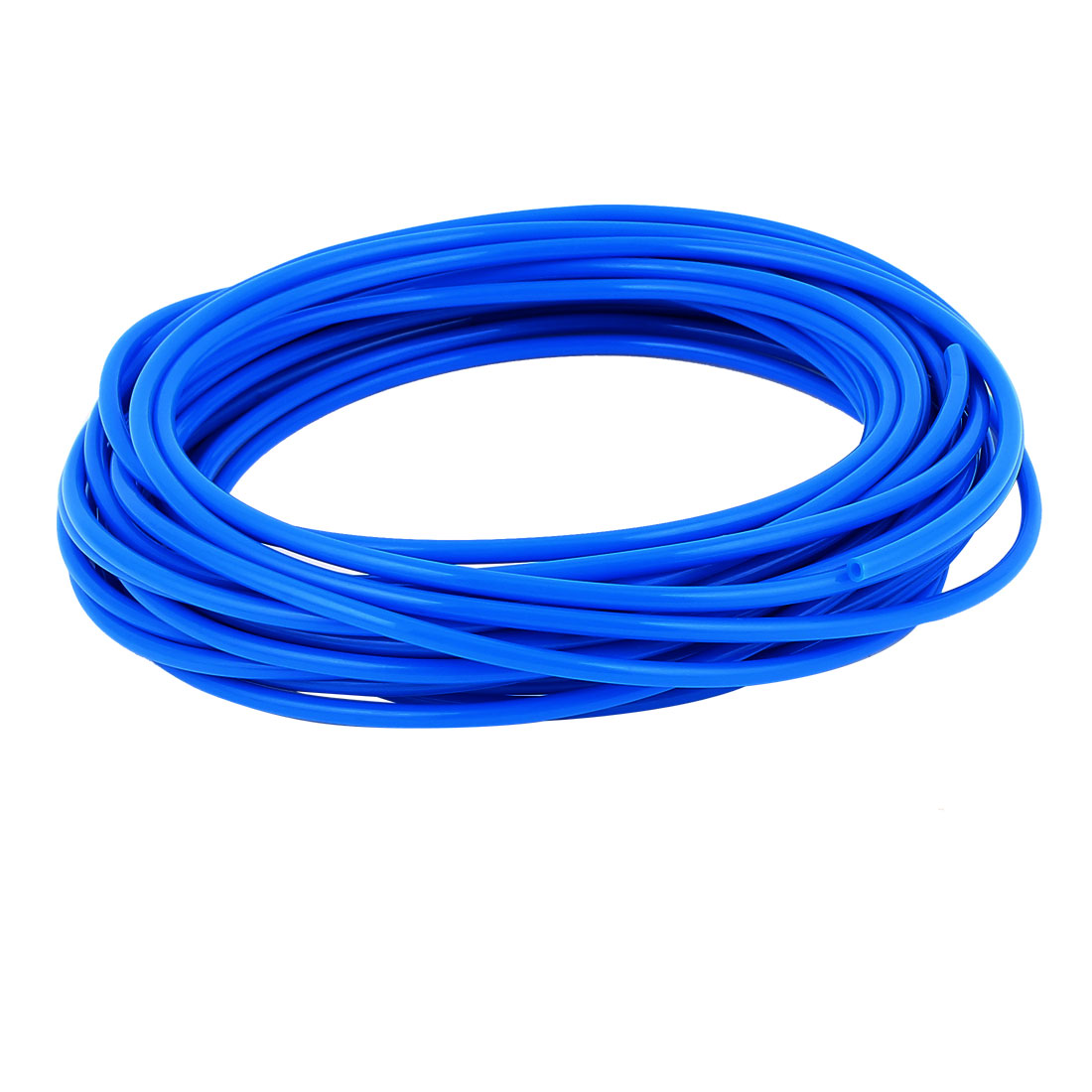 4mm x 2.5mm Fleaxible PU Tube Pneumatic Hose Blue 10M Length