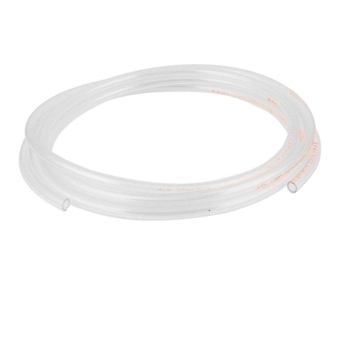 8mm x 12mm Clear Fleaxible PU Tube Pneumatic Polyurethane Hose 4M Length