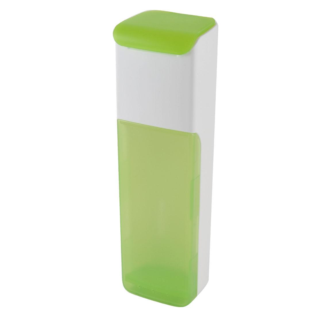 Kitchen Plastic Spoon Fork Chopsticks Cage Case Box Holder Organizer Green