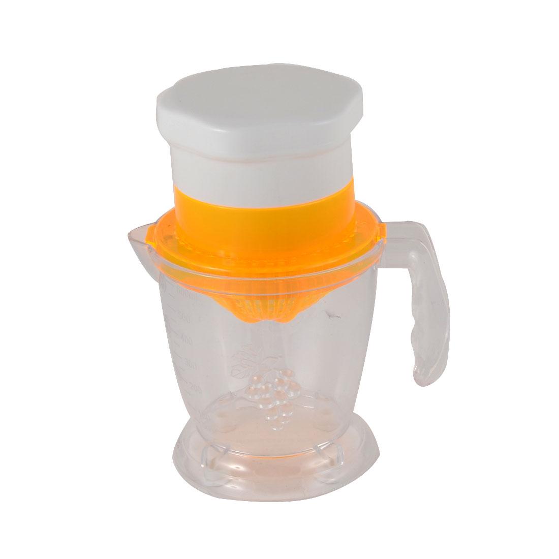 Home Kitchen Plastic Multifunction Citrus Orange Lemon Manual Juicer Juice Extractor Squeezer 600ml