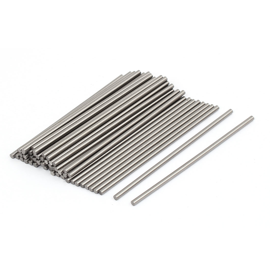 3mm Diameter 100mm Long HSS Round Turning Lathe Carbide Bars 50pcs