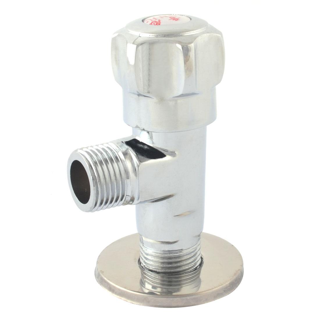 Kitchen Metal 2 Ways Round Head Water Tap Faucet Switch 20mm Thread Dia
