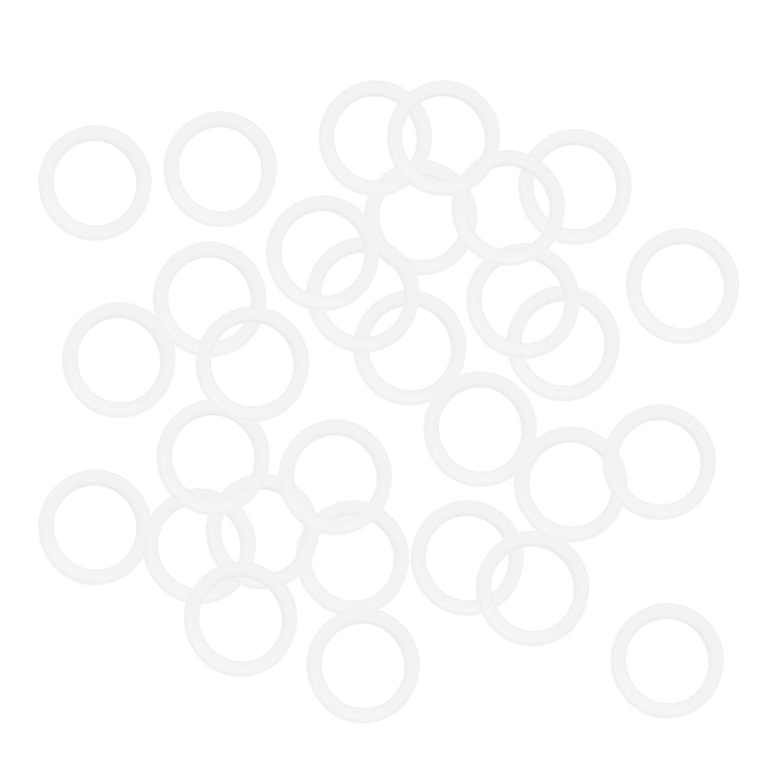 Valve Faucet Bearing Pneumatic Pump Gasket Sealing Ring 11mm x 15mm x 2mm 30 Pcs