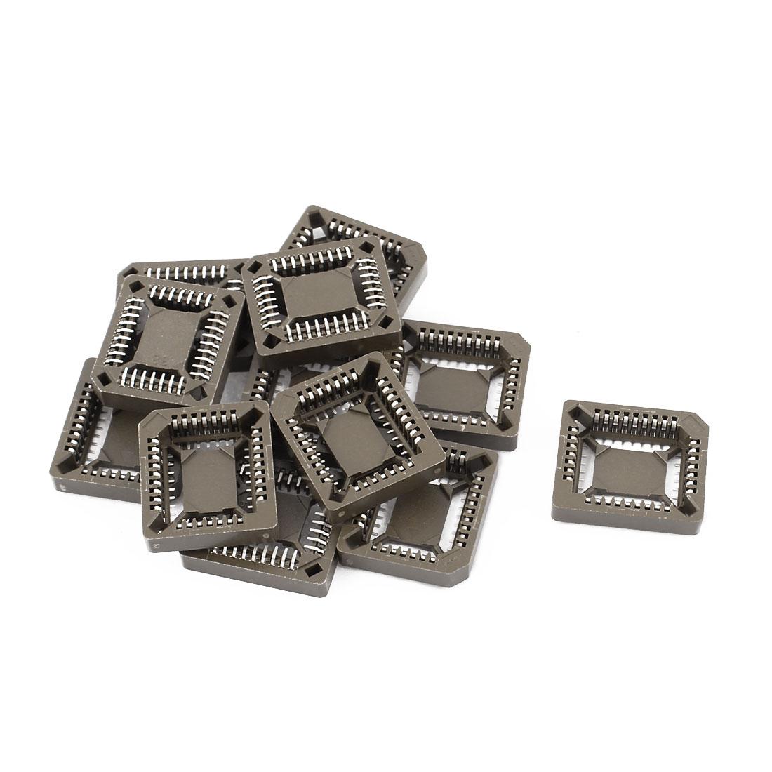 12 Pcs PLCC 32 SMT Surface Mount IC Socket for SMT Chips 20mm x 17mm