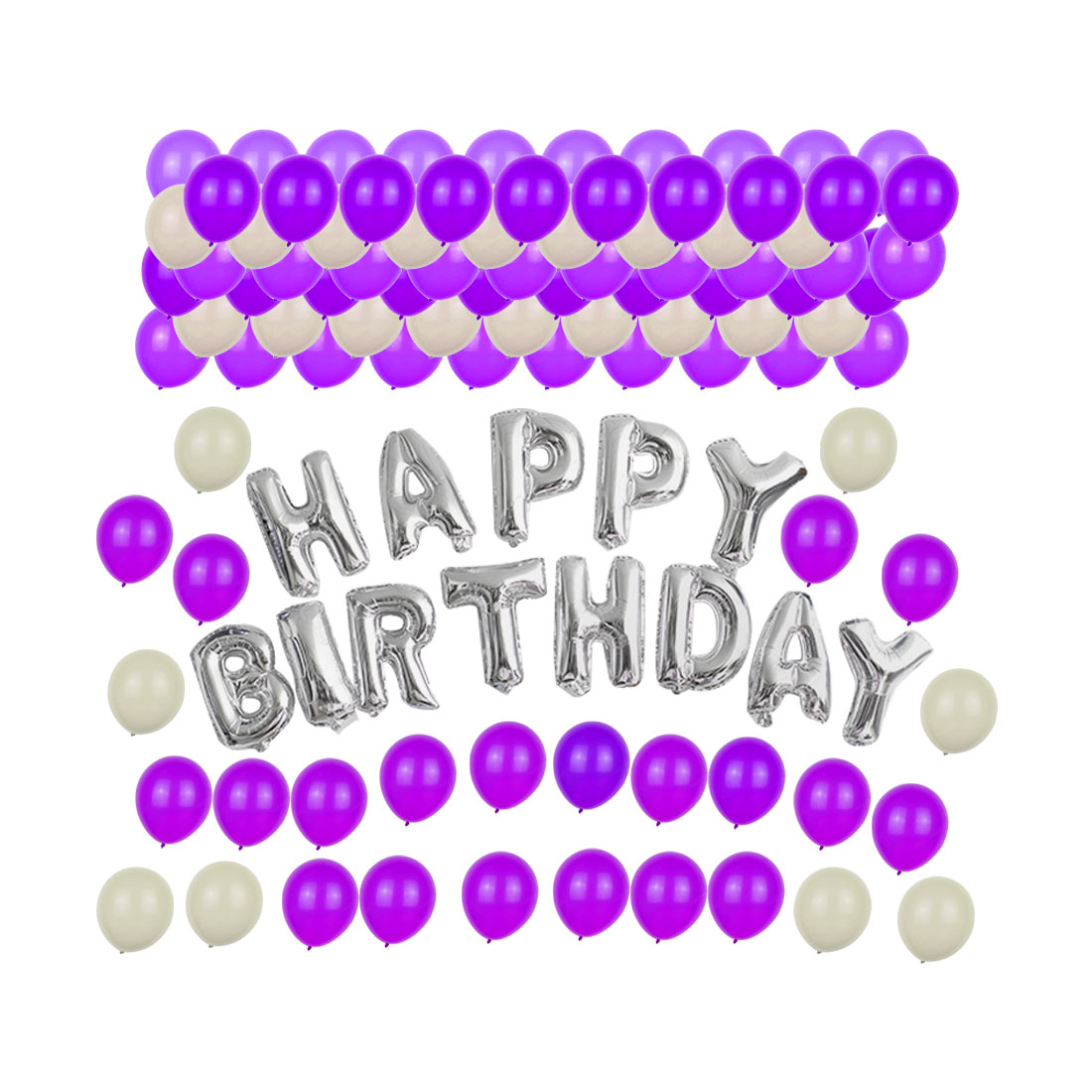 Party Wedding Decoration HAPPY BIRTHDAY Alphabet Letter Balloons Set Gift