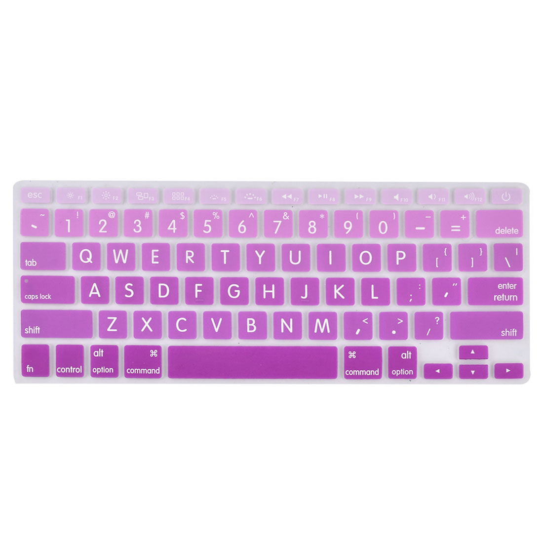 Laptop Desktop Computer Silicone Protection Dustproof Keyboard Protector Film Cover Purple 13''