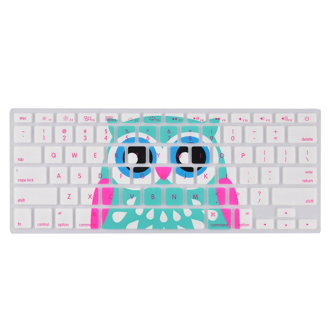 Laptop Macbook Silicone Owl Prints Dustproof Keyboard Protective Film Cover 13''
