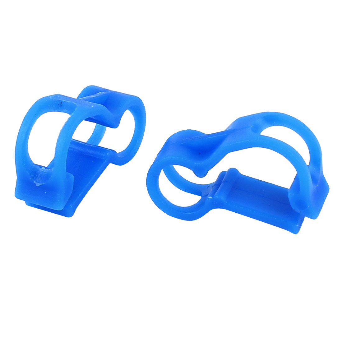 2 Pcs RC Nitro 5mm Dia Fuel Line Tubing Clamp Pinch Clip Blue