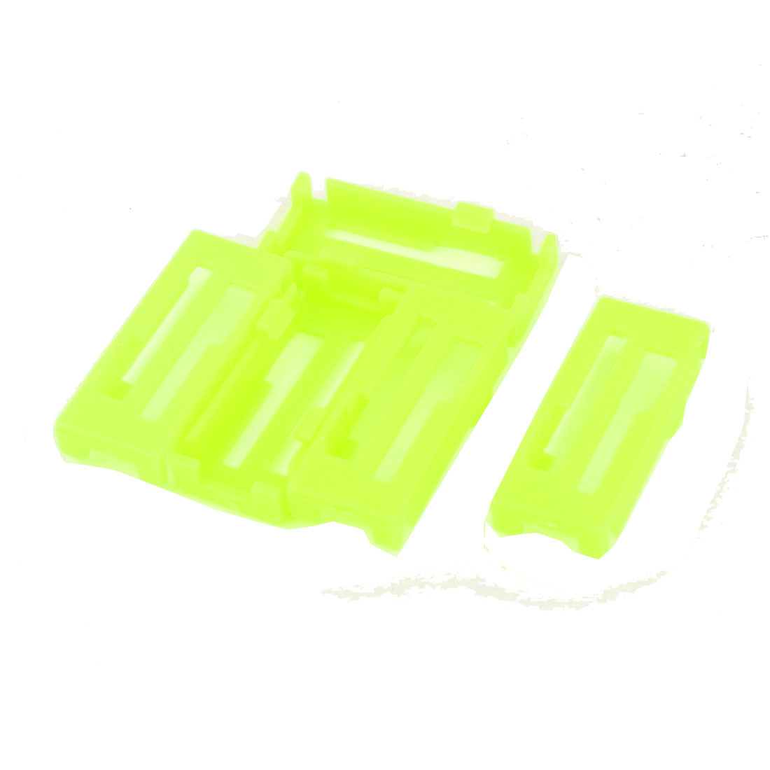 5pcs Servo Extension Cable Buckle Cable Clip Fastenner Jointer Yellow