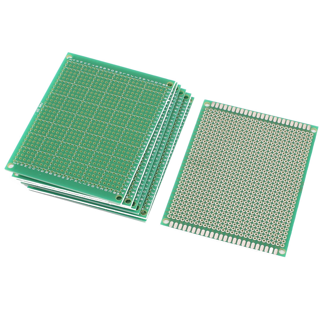 7 Pcs Single Sided Prototype Universal PCB Print Circuit Board 7 x 9CM Green