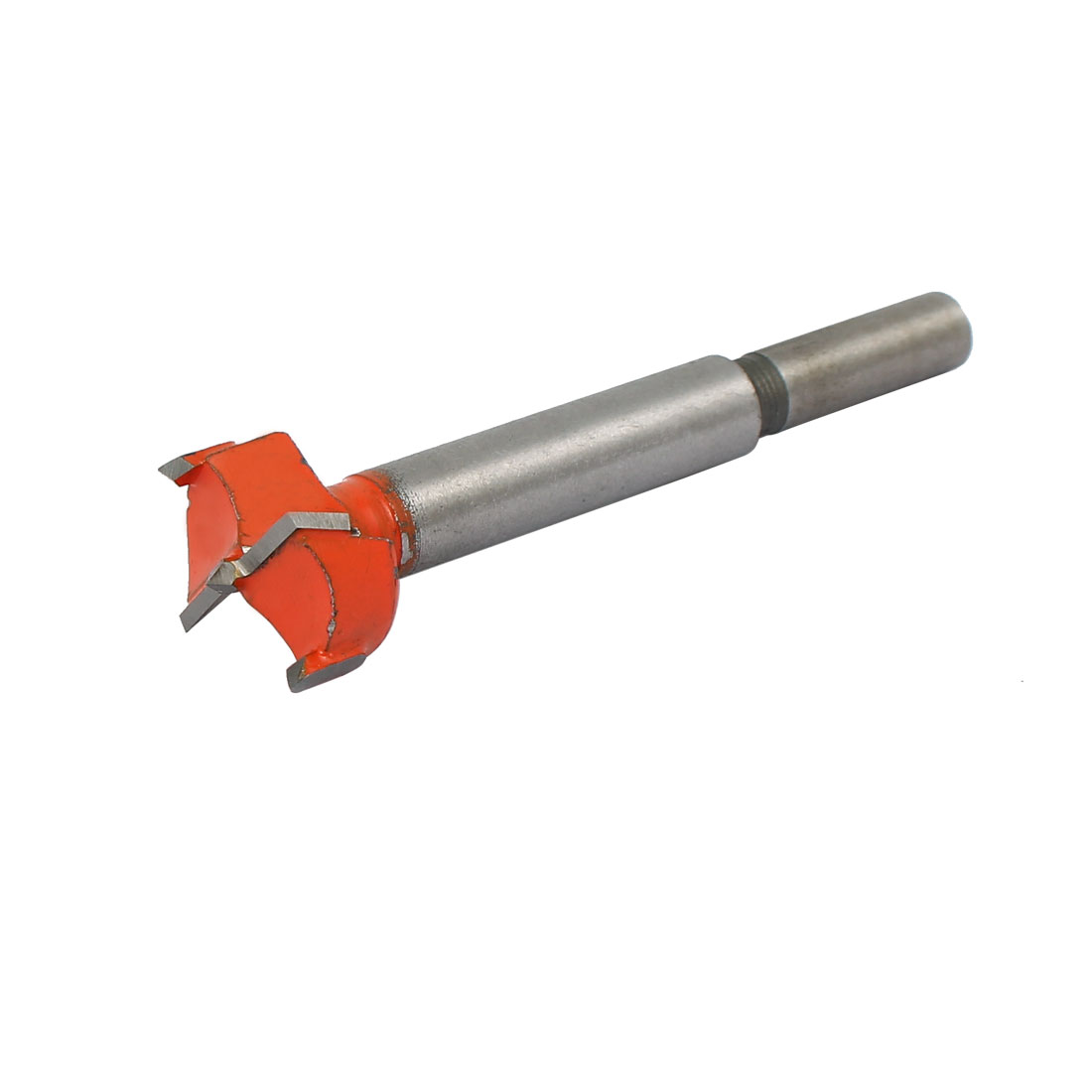 23mm Dia Carbide Tip Wood Drilling Cutting Hinge Boring Bit Drill Tool Orange