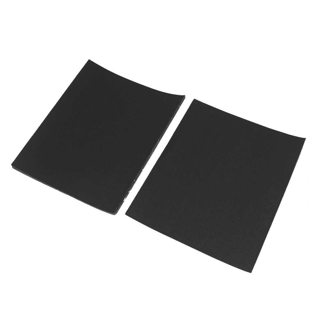 Grinding Square Abrasive Sanding Sandpaper Sheets 180 Grit 10 Pcs