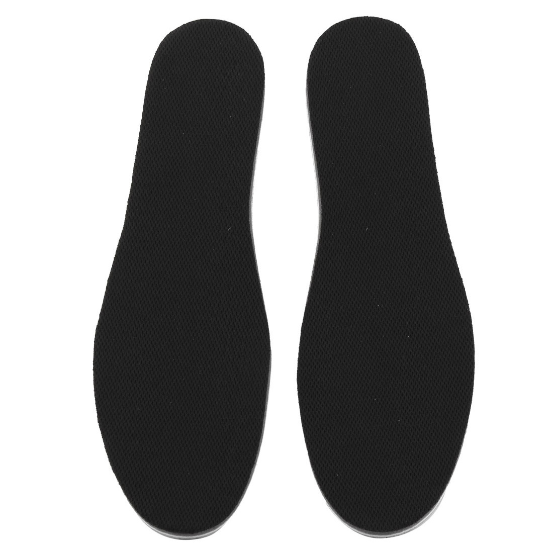 Women EVA Breathable Shoes Insole Pads Black 2.5cm Height Increase Pair