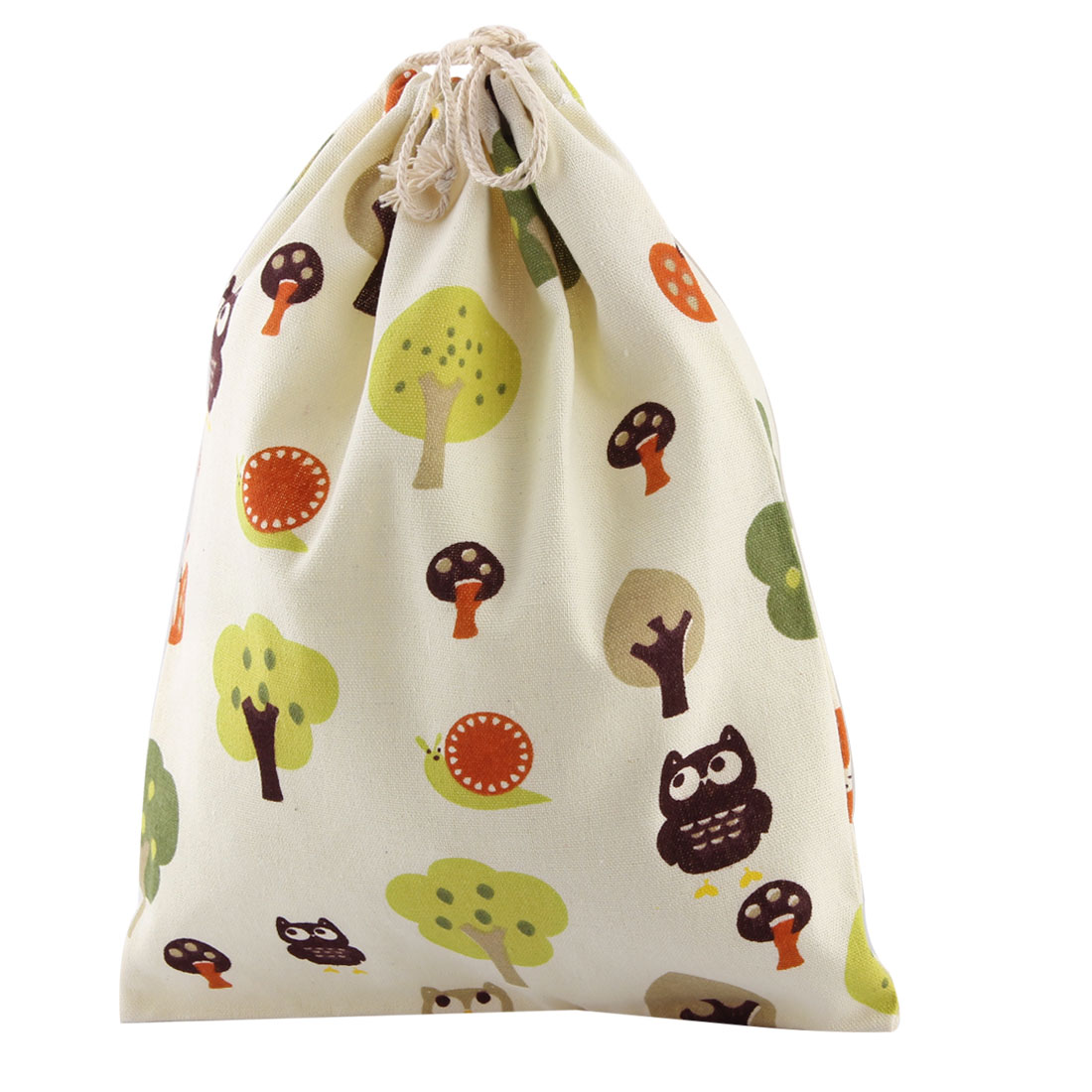 Outdoor Travel Cotton Blend Clothes Socks Storage Bag Drawstring Pouch
