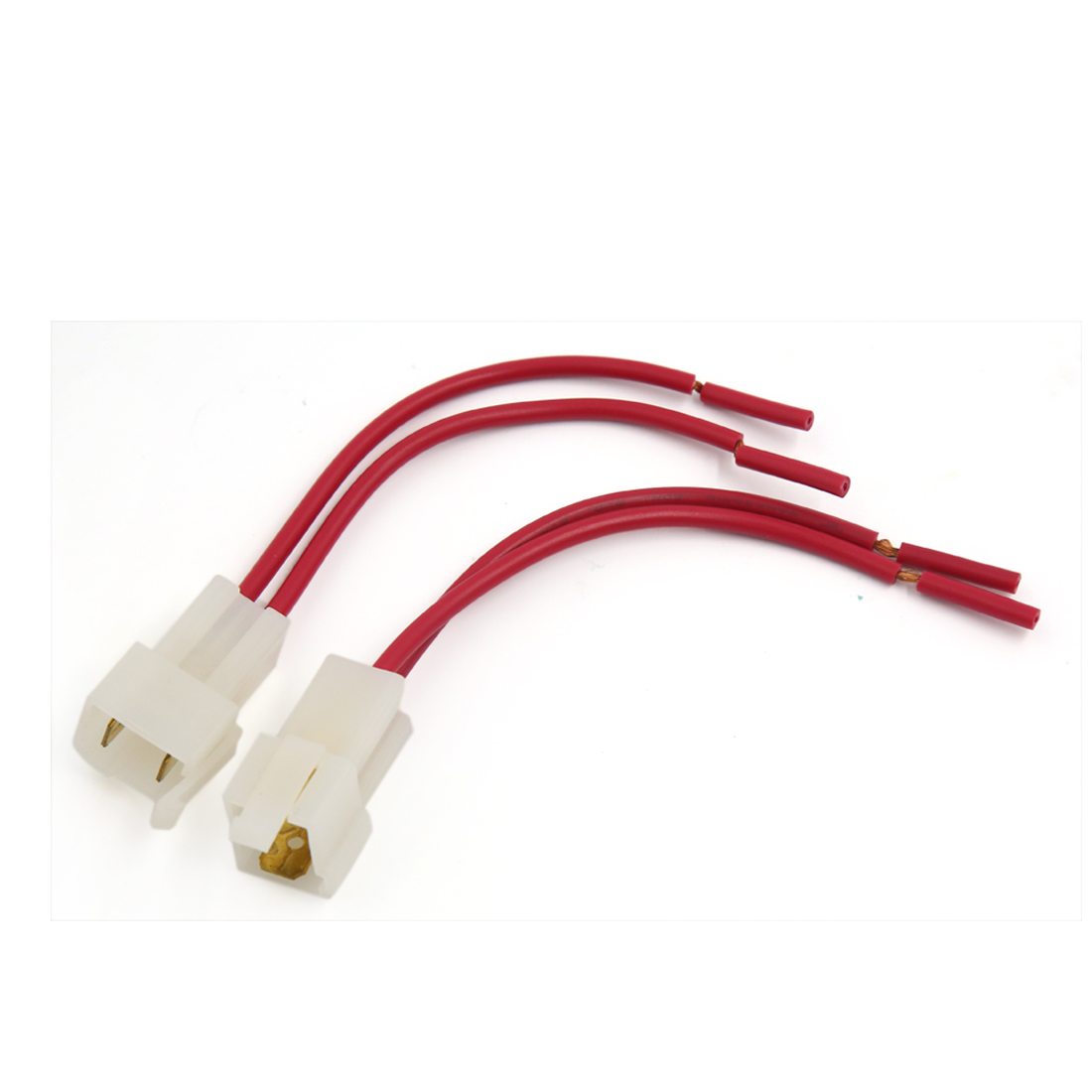 2Pcs Middle Fuse Holder With Cable for Car Truck ATC Blade