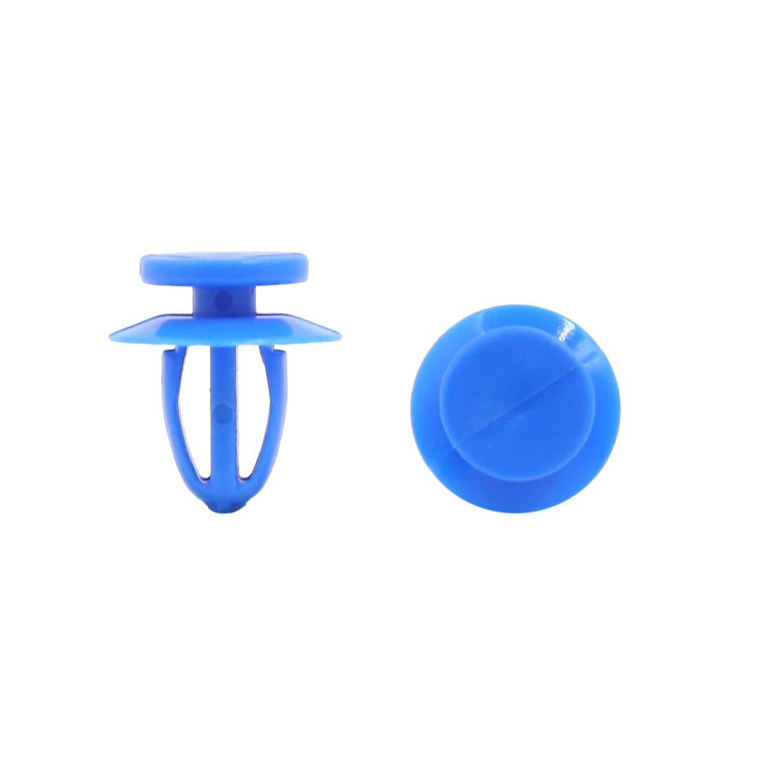 20Pcs 9mm Hole Dia Plastic Push in Rivet Interior Trim Panel Car Door Clips