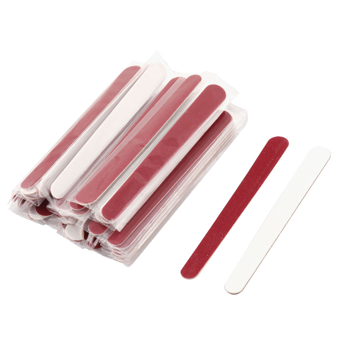 Portable Abrasive Board Disposable Professional Beauty Care Nail File 50 PCS