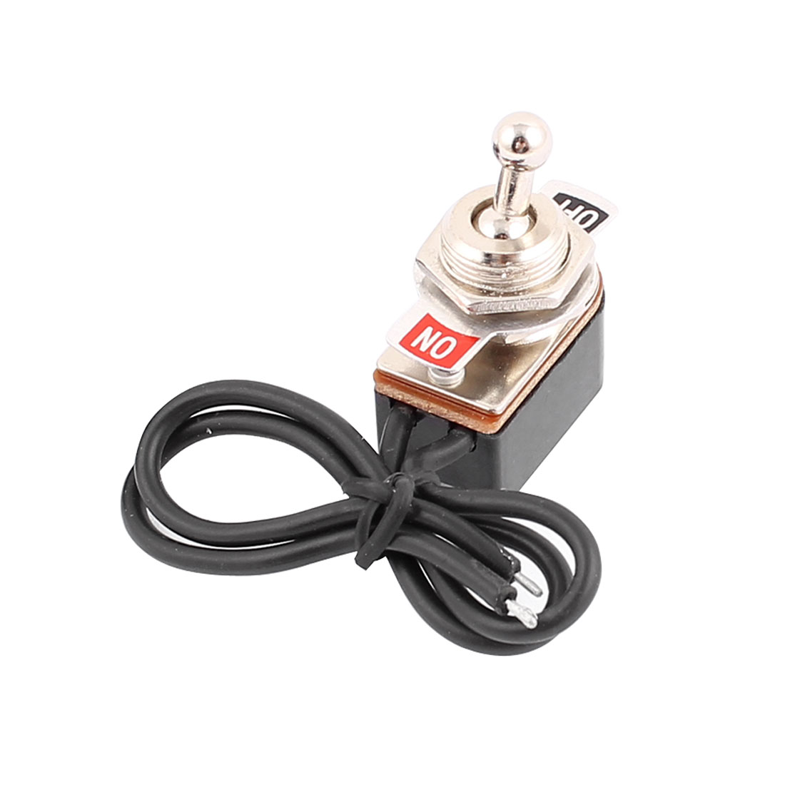 250VAC 3A 125VAC 6A SPST ON-OFF 2 Positions Self Locking Power Toggle Switch