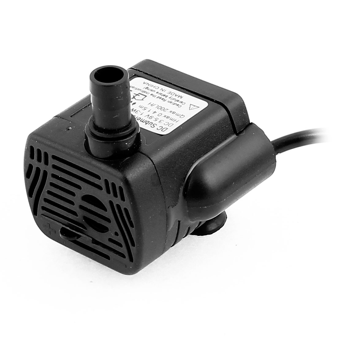 DC 3.5V-9V 1-3W USB Mini Submersible Pump for Aquarium Fish Tank Fountain Pond