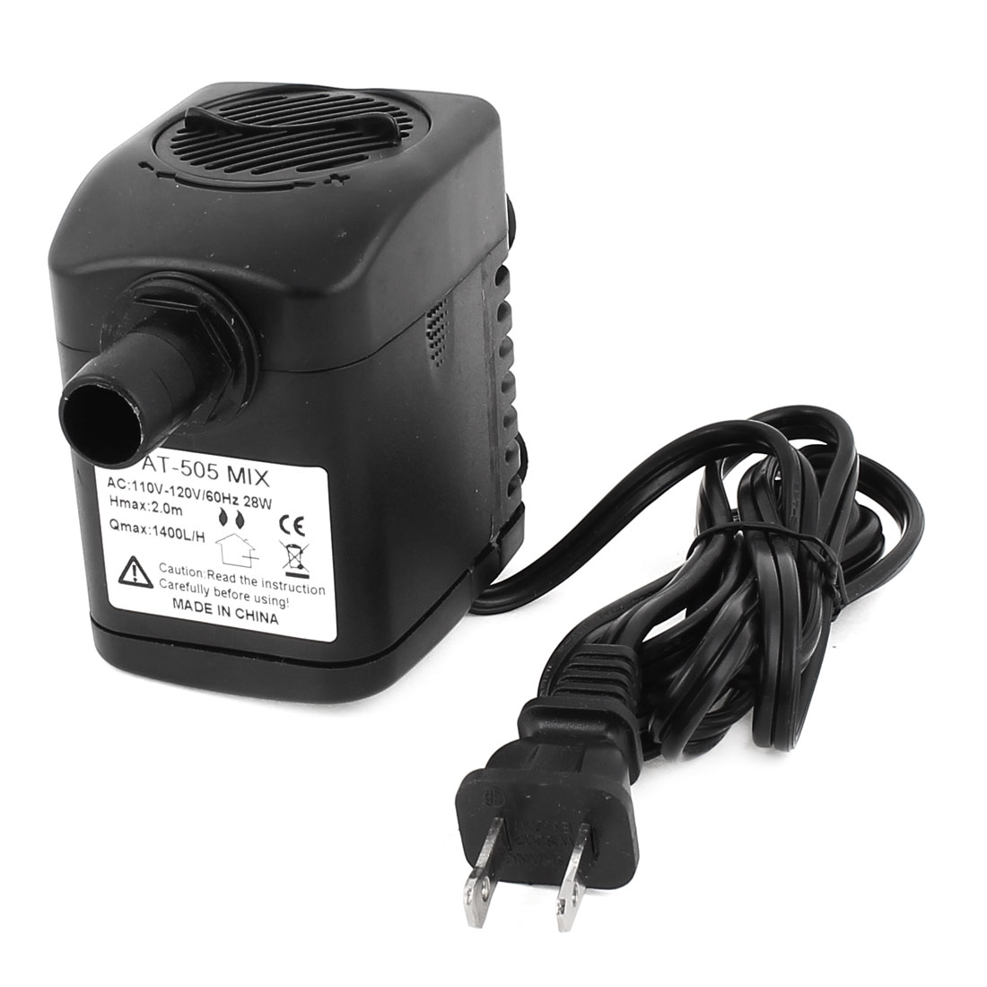 AC 110V US Plug 28W Electric Submersible Water Pump Aquarium Fountain