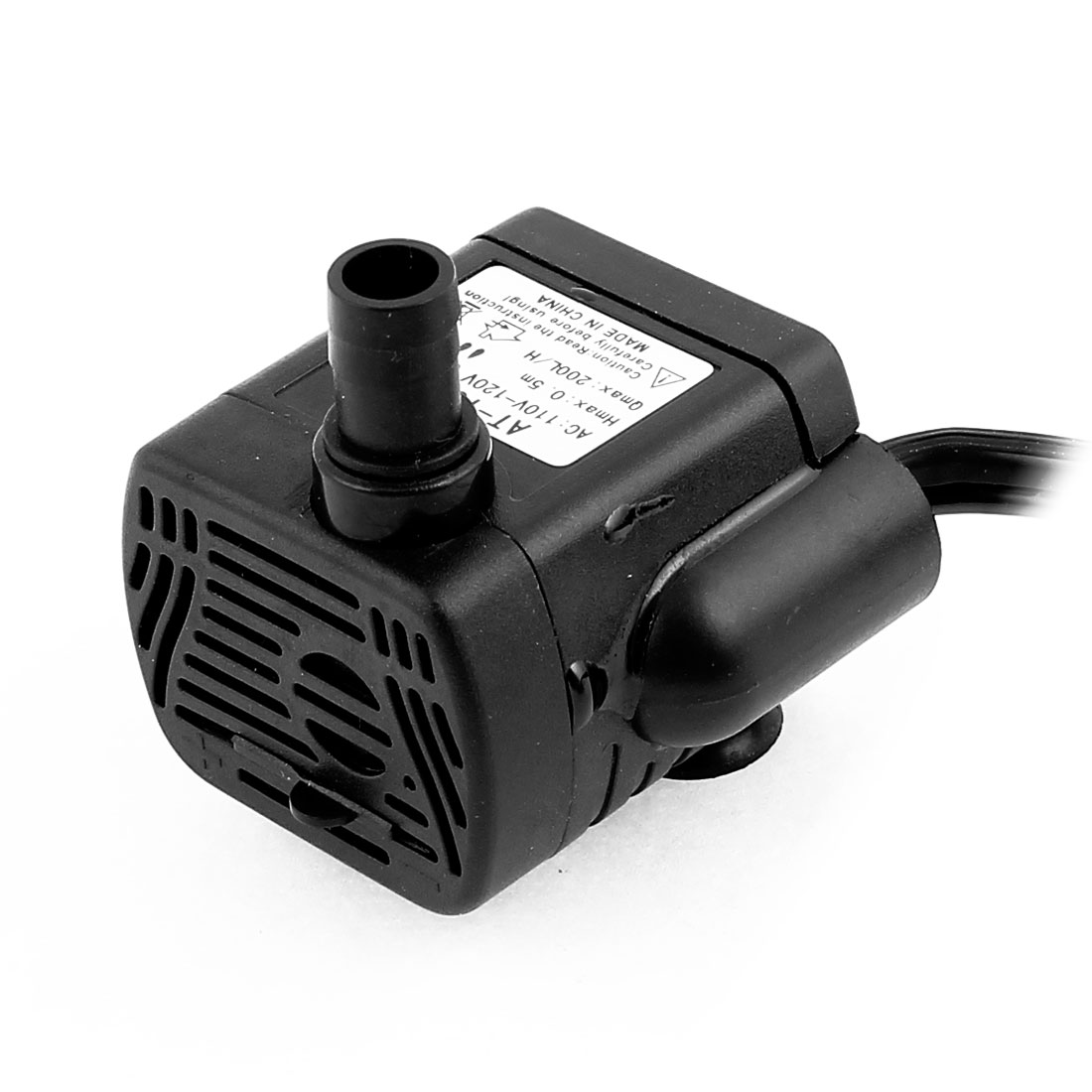 AC 110V-120V US Plug 3W Electric Mini Submersible Water Pump Aquarium Fountain