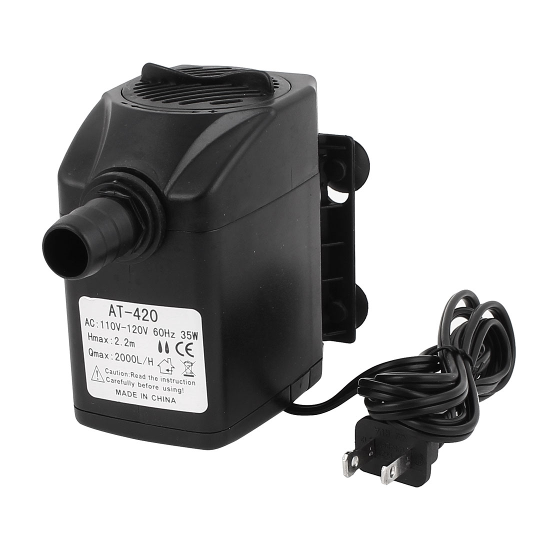 AC 110V US Plug 35W Electric Submersible Water Pump Aquarium Fountain