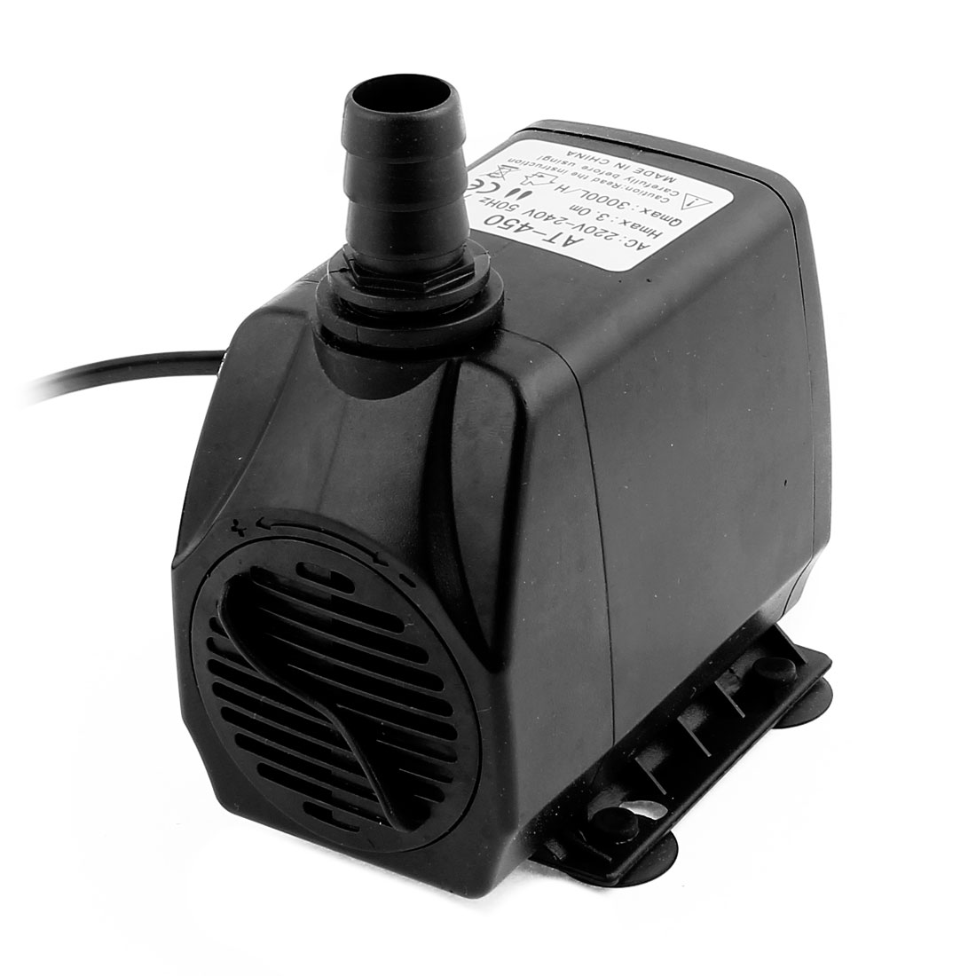 AC 220V-240V AU Plug 75W Electric Submersible Water Pump for Aquarium Fountain Pond w Switch