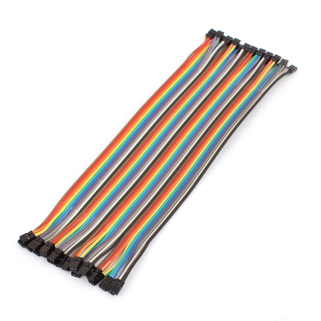 2.0mm to 2.0mm Female Connector 40P Breadboard Double Head Jumper Wire Cable 20cm Length