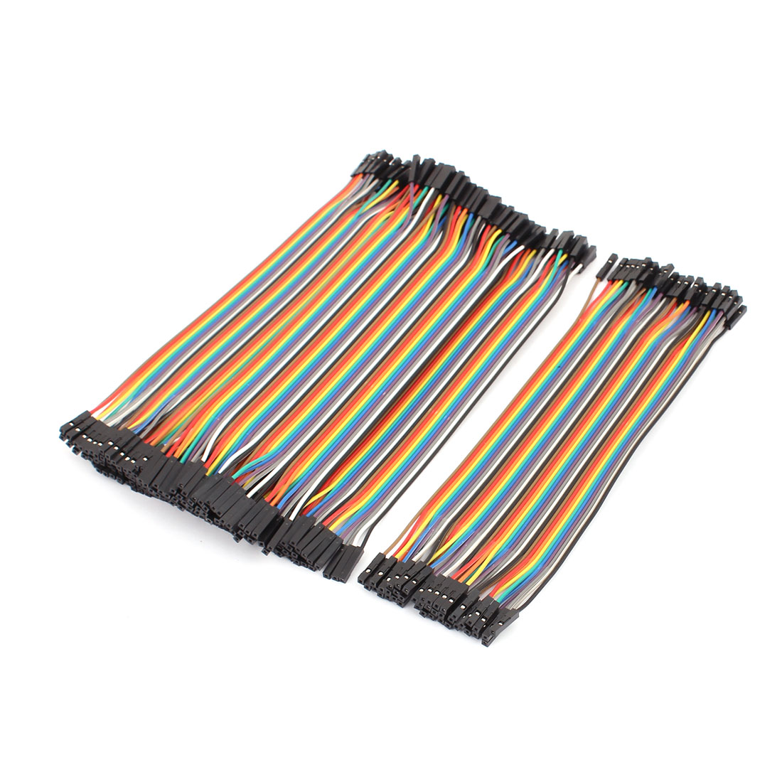 5PCS 2.0mm to 2.54mm Female Connector 40P Breadboard Double Head Jumper Wire Cable 20cm Length
