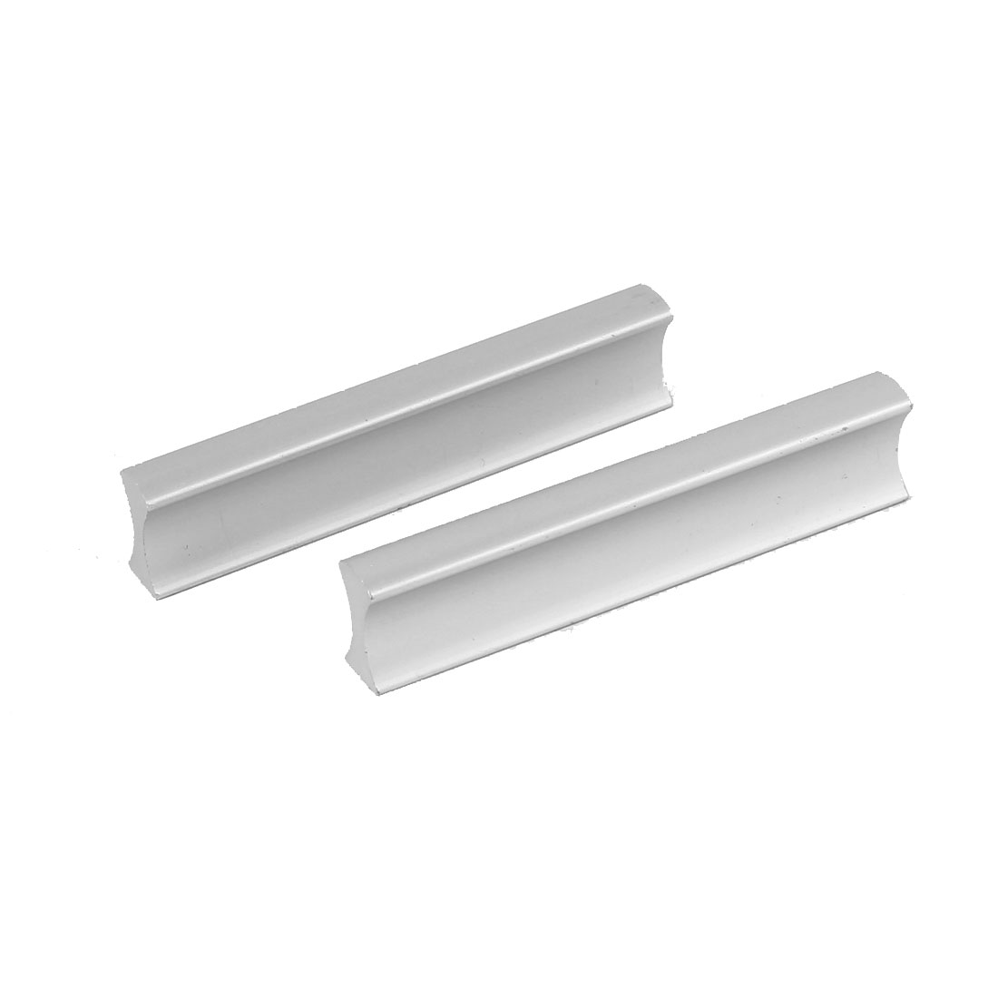 74mm Length Cupboard Cabinet Drawer Rectangle Metal Pull Handle 2pcs